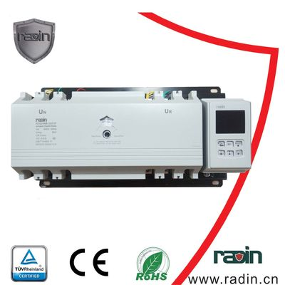 China Dual Power Automatic Generator Power Switch 100A-225A 3P/4P MCCB Type White supplier