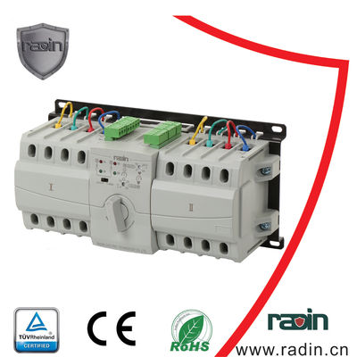 China 30A 50A Dual Power Transfer Switch Compact Structure With Auto Recovery supplier