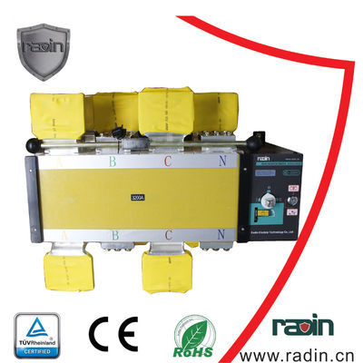 China Hotels 2500 Amp Transfer Switch ODM Available Industrial Manual Remote Control supplier