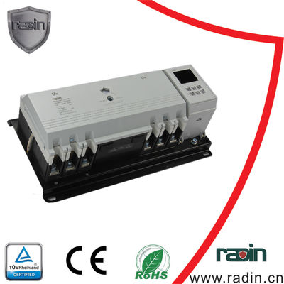 China 100A-225A 3P/4P Generator Power Switch MCCB Type Dual Power White Black For Bank supplier