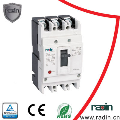 China Compact Adjustable MCCB DC 1000V Short Circuit Current 5 Frame Sizes Industrial supplier