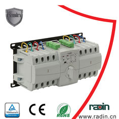 China Automatic ATS Transfer Switch Manual 6A - 63A 0.2s Fixed Low Power Consumption supplier
