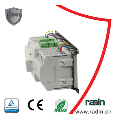 China 6A-63A Electrical Power Transfer Switch , 4P Auto Power Changeover Switch supplier