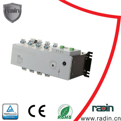 China 125 - 250 A  Electric Transfer Switch For Generator , Manual 100 Amp Generator Transfer Switch supplier