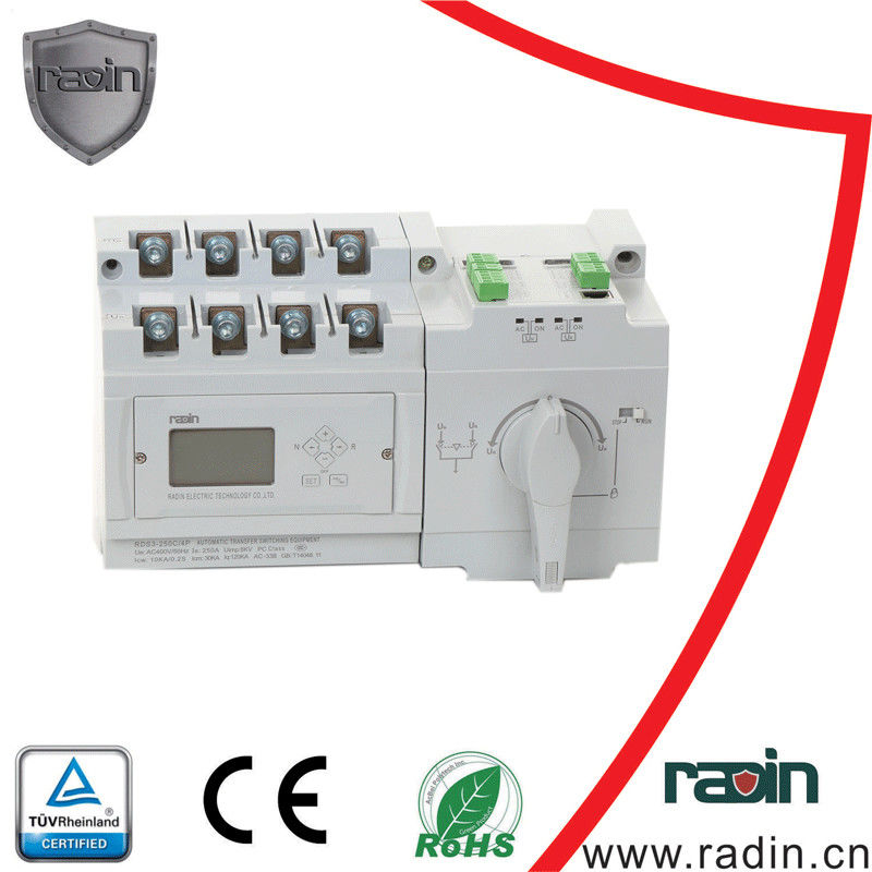 ODM Available Automatic Changeover Switch 10A-630A White Black Three ...