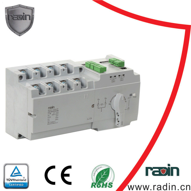 2 Input 1 Output Auto Transfer Switch TUV CE Approved For