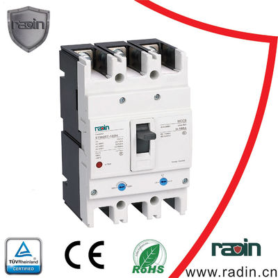 Thermomagnetic Electrical Circuit Breaker MCCB 5 Frame Sizes With Contact Structure