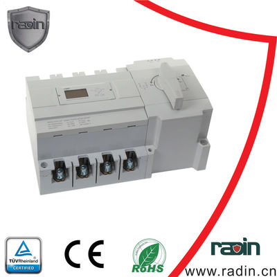 Change Over Automatic Changeover Switch ODM Available Three Phase RS485 Port