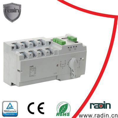 2 Input 1 Output Auto Transfer Switches , 2 Pole Changeover Switch 63 Amp