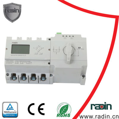 China Three Phase 125a Changeover Switch PC Type 230V/50HZ With RS485 Port Hotel factory
